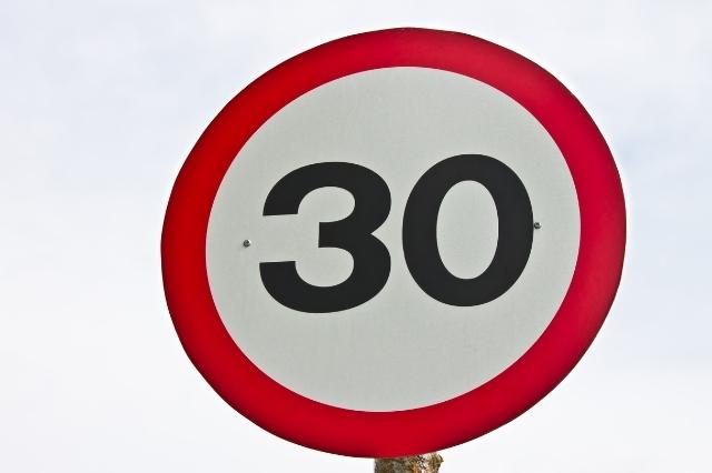 ¡Cuidado! Nuevos límites de velocidad en vías urbanas